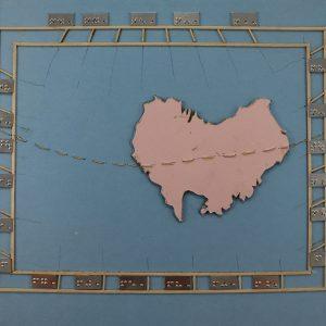 """Обложка """"Австралия контурная карта Австралии"""""""
